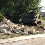 Drainage Repair Underway